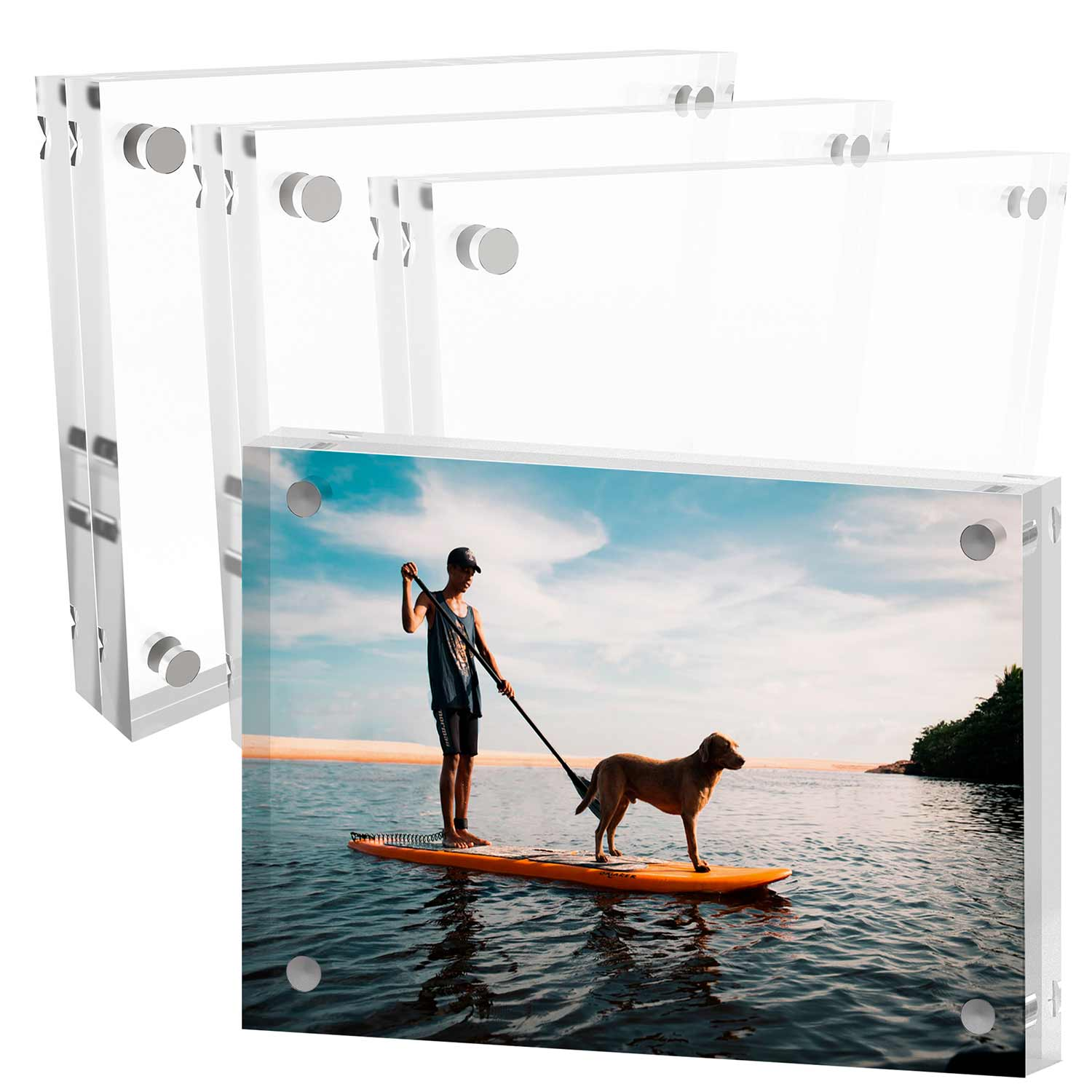 Mammoth 8 10 Inches Aaa Grade Acrylic Picture Frame Thick And Heavy Frameless Block Display 3 Pack Mammoth,Beautiful Bedding For Master Bedroom